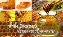 น้ำผึ้ง (Honey) น้ำอมฤตเพื่อสุขภาพ